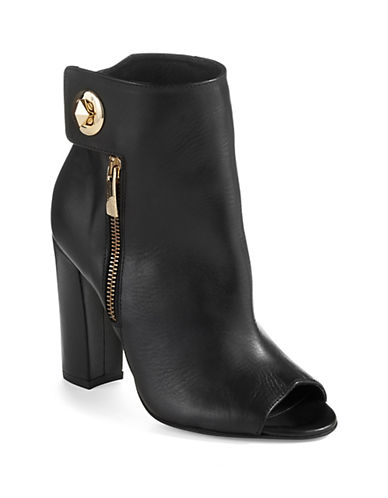 KURT GEIGER LONDON Turn Lock Ankle Booties
