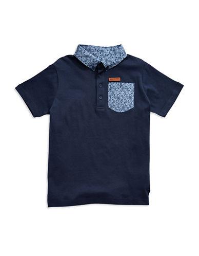 BEN SHERMANBoys 8-20 Paisley Polo Shirt