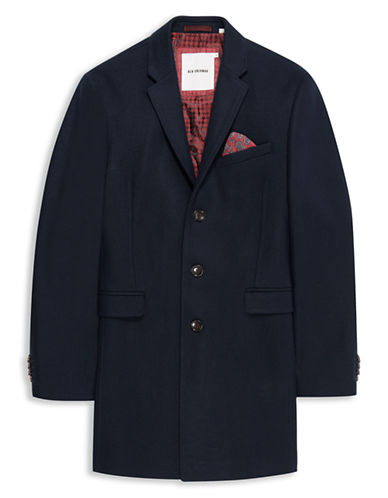 BEN SHERMANCrombie Wool Blend Jacket