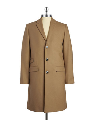 Tiger Of Sweden Two-Button Wool Chesterfield Coat