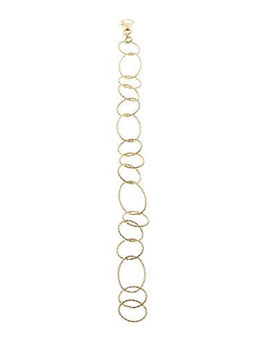 LORD & TAYLOR18Kt Gold Over Sterling Silver Link Bracelet