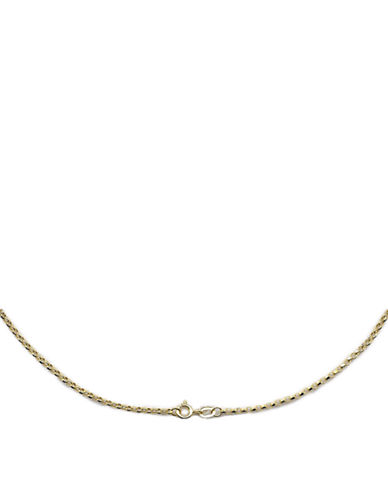 LORD & TAYLOR14 Kt. Yellow Gold Chain Necklace