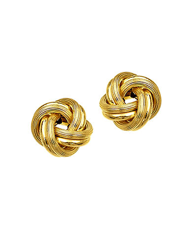 LORD & TAYLOR14 Kt. Yellow Gold Knot Earrings