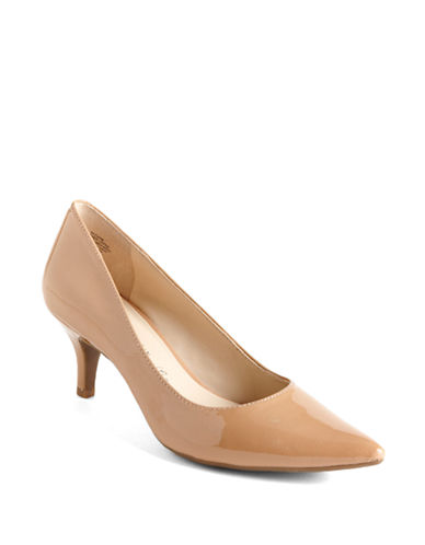 ANNE KLEINIsana Patent Leather Pumps
