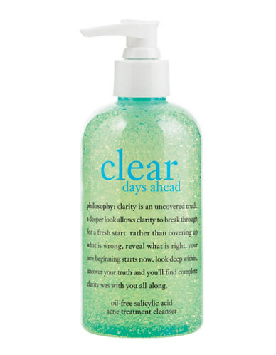 PHILOSOPHYClear Days Ahead Oil-Free Salicylic Acid Acne Treatment Cleanser