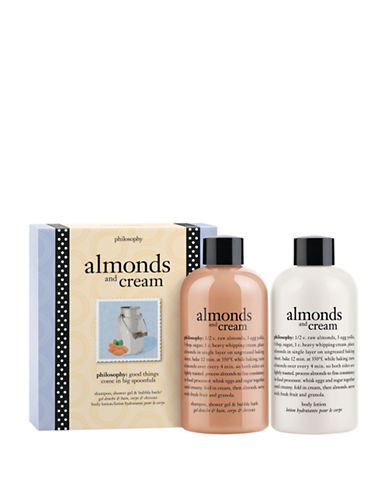 Philosophy Almonds and Cream Duo Shower Gel and Body Lotion