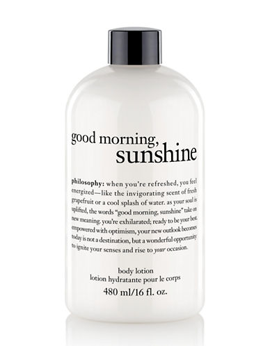 PHILOSOPHY Good Morning Sunshine Body Lotion 16oz