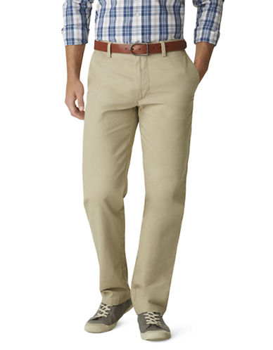 DOCKERS Classic Fit Twill Khaki Pants