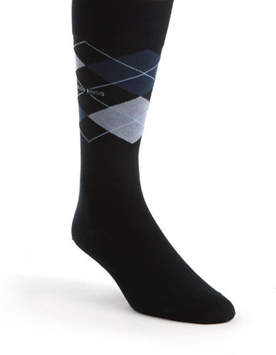 HUGO BOSSArgyle Dress Socks