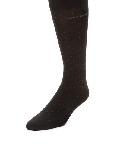 HUGO BOSSLuke Pindot Dress Socks