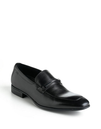 HUGO BOSSVarmio Leather Loafers