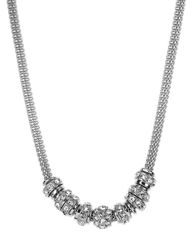ANNE KLEINChain Link and Bead Necklace