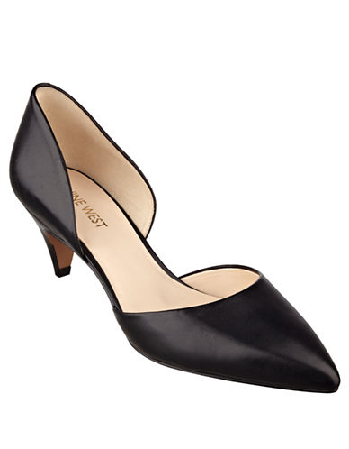 Nine West Chaching Leather Pumps