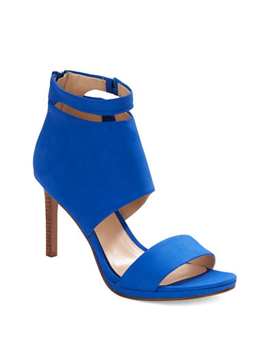 NINE WESTMagic Moments Leather Stiletto Sandals