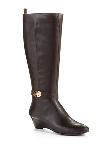 BANDOLINOAdanna Wide Calf Metallic Accented Boots