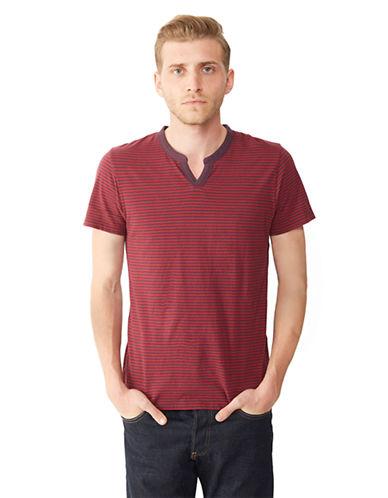 ALTERNATIVEOrganic Pima Stripe Moroccan T-Shirt