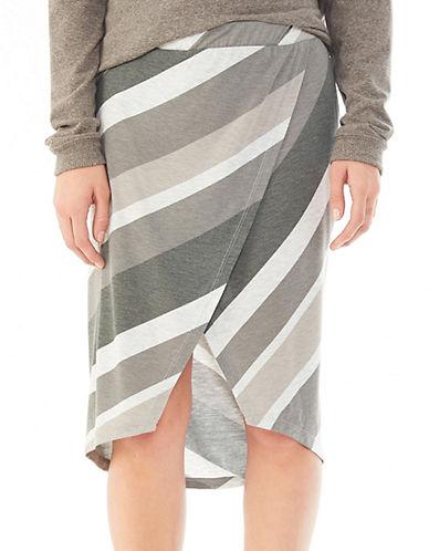 ALTERNATIVEMidi Wrap Skirt