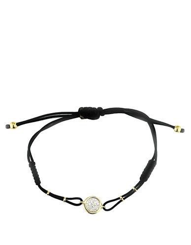 EFFYDOro Diamond Circle Cord Bracelet in 14 Kt. Yellow Gold