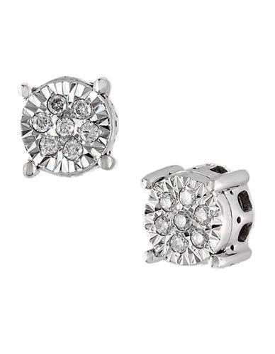 EFFYClassique 14 Kt. White Gold Diamond Stud Earrings