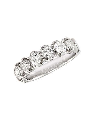 EFFYClassique 14 Kt. White Gold 7 Diamond Band