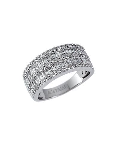 EFFY14 Kt White Gold and Diamond Ring