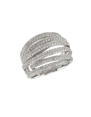 EFFY14 Kt. White Gold and Diamond Ring