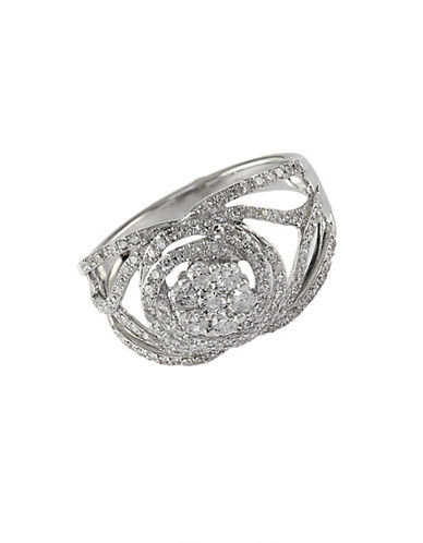 EFFYBouquet 14Kt. White Gold and Diamond Ring