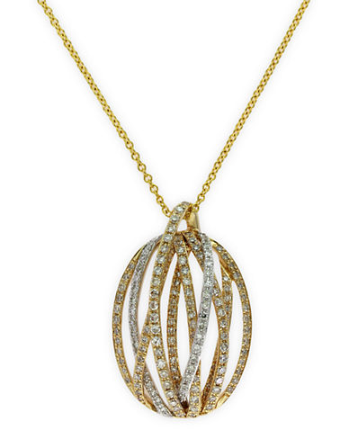 EFFY Doro 14Kt. Yellow Gold and Diamond Pendant Necklace