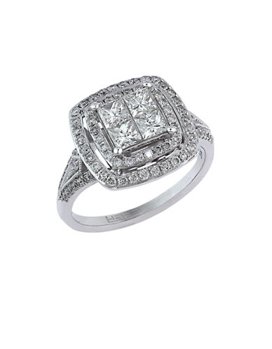 EFFY Classique 14Kt. White Gold and Diamond Ring