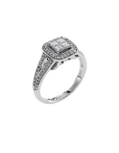 EFFYClassique 14Kt. White Gold & Diamond Ring