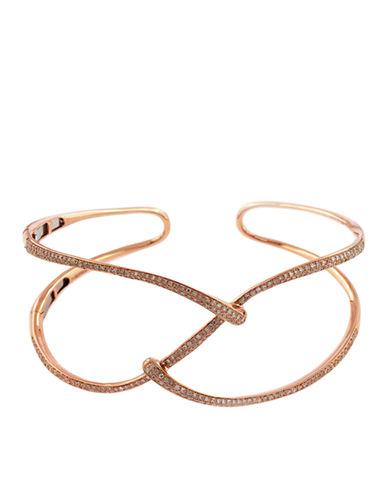 EFFYDiamond And 14K Rose Gold Cuff Bracelet, 1.28 TCW