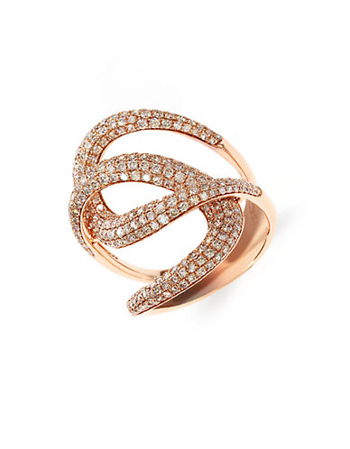 EFFY Diamond And 14K Rose Gold Ring, 1.73 TCW