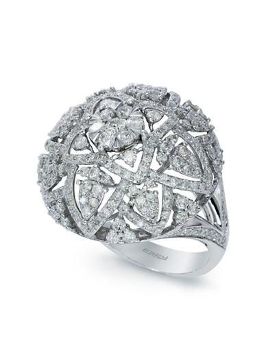 EFFY14K White Gold Diamond Ring