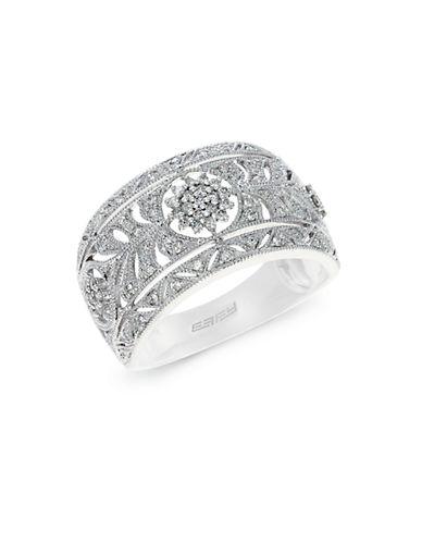 EFFYClassica 14K White Gold Diamond Ring
