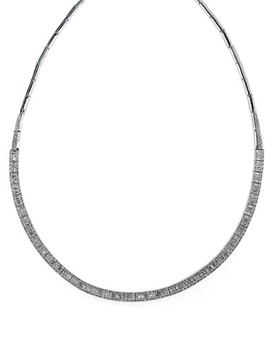 EFFY Classique 14Kt. White Gold and Diamond Necklace