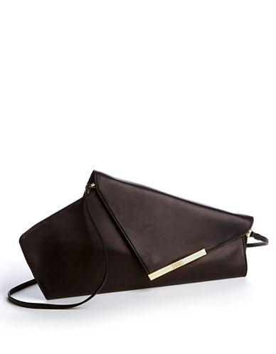 BADGLEY MISCHKAAlba Leather Clutch