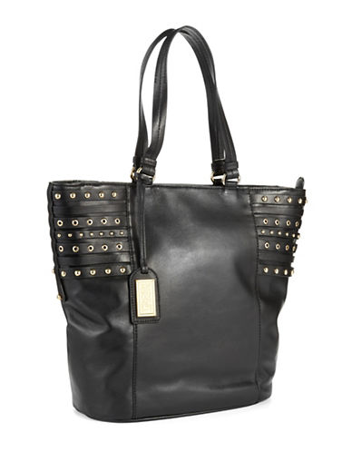 BADGLEY MISCHKA Stud Accented Tote Bag