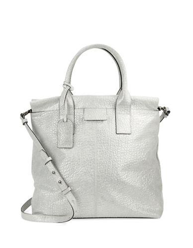 Badgley Mischka Helene Leather Satchel Bag