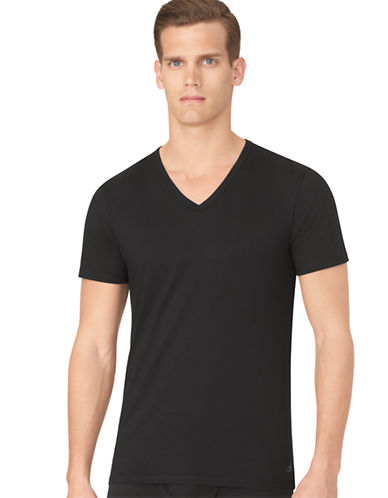 CALVIN KLEIN Body 3 Pack Slim V Neck T Shirt