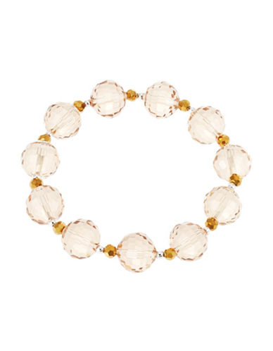 LORD & TAYLOR Genuine Stone Stretch Bracelet