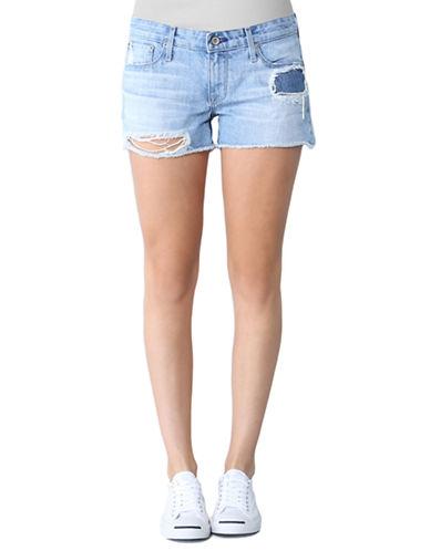 BIG STARRemy Destroyed Cut-Off Shorts