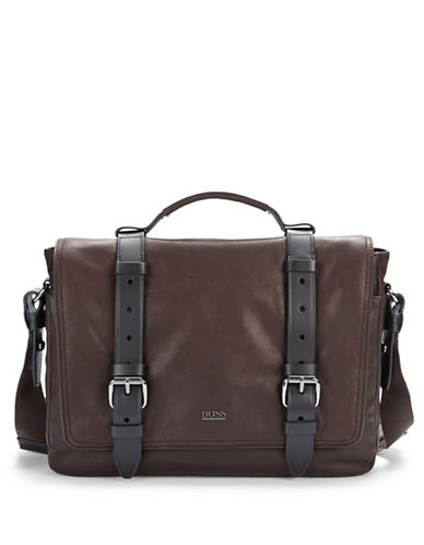 HUGO BOSS Leather Crossbody Bag