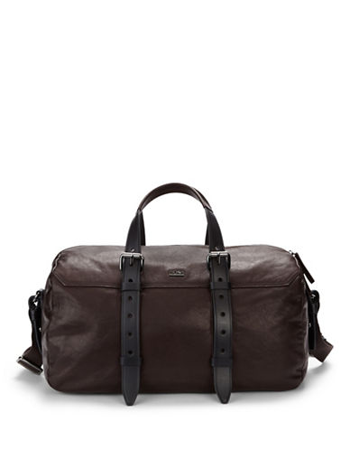 HUGO BOSS Siguard Leather Duffle Bag