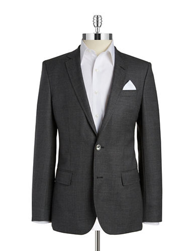 HUGO BOSS Two-Button Wool Blazer