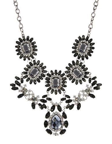 CARAFloral Crystal Bib Necklace