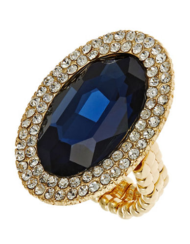 CARA Pave Accented Stretch Ring