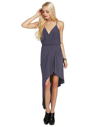 BCBGENERATIONAsymmetrical Pleated Skirt Dress