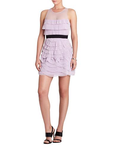 Shop Bcbgmaxazria online and buy Bcbgmaxazria Karyna Pleated Tiered Dress dress online