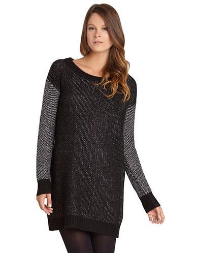 BCBGENERATIONTextured Sleeve Tunic Dress