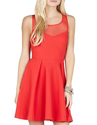 Shop Bcbgeneration online and buy Bcbgeneration Back Bow Empire Dress dress online